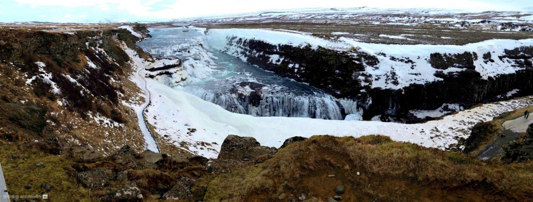 Iceland, Sudurland, Gullfoss
